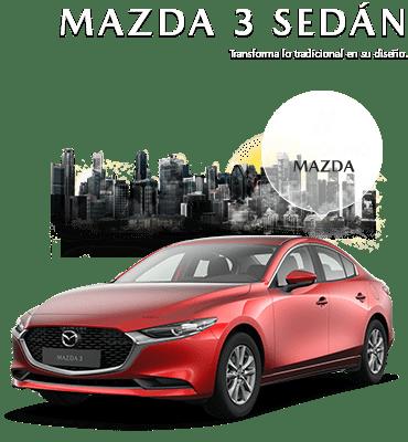 Modelo MAZDA 3 SEDÁN NUEVA GENERACIÓN