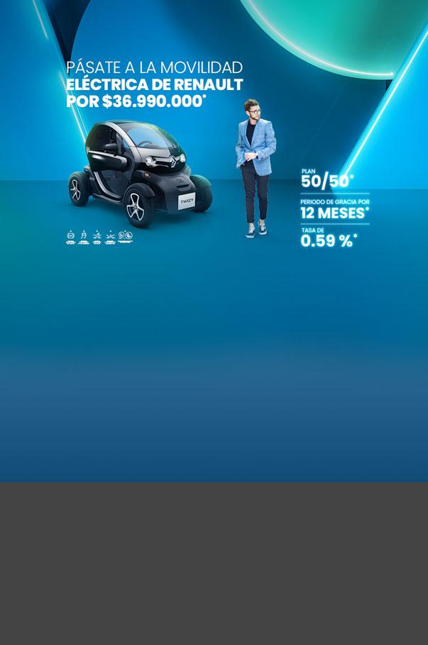 Estrena tu Renault Twizy