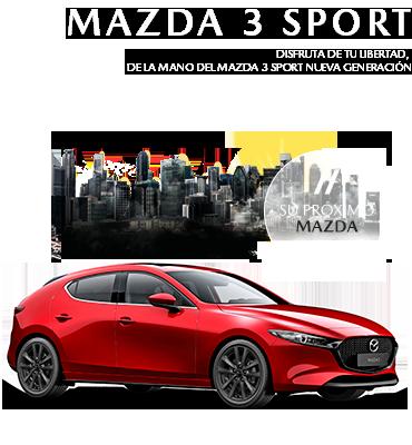 Modelo MAZDA 3 SPORT NUEVA GENERACIÓN