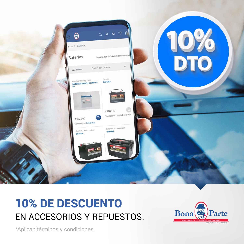 Accesorios y repuestos para tu carro