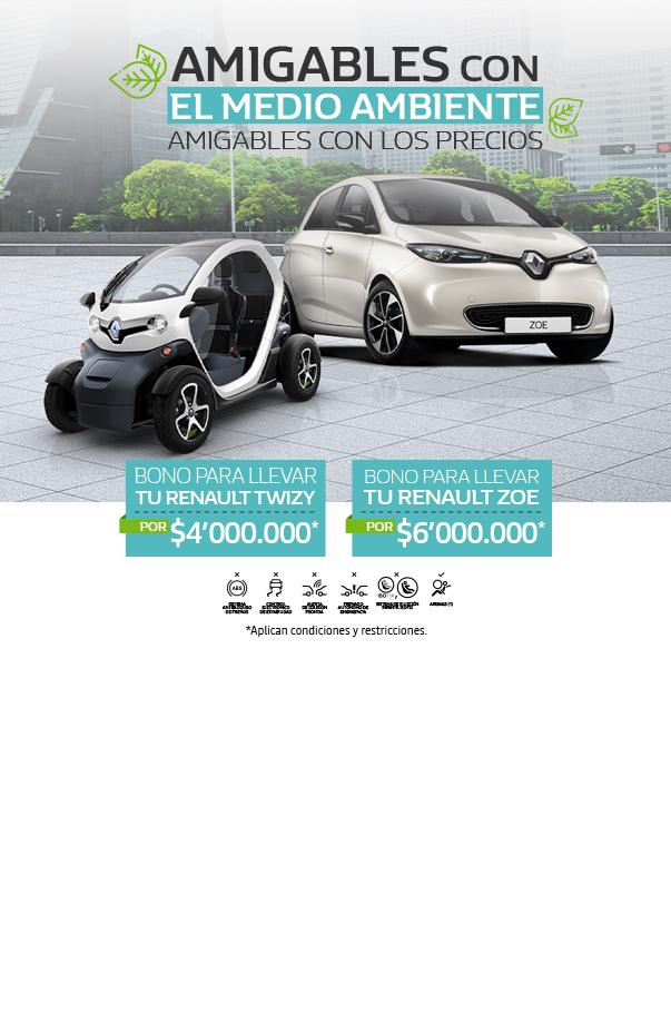 Bono vehículos eléctricos