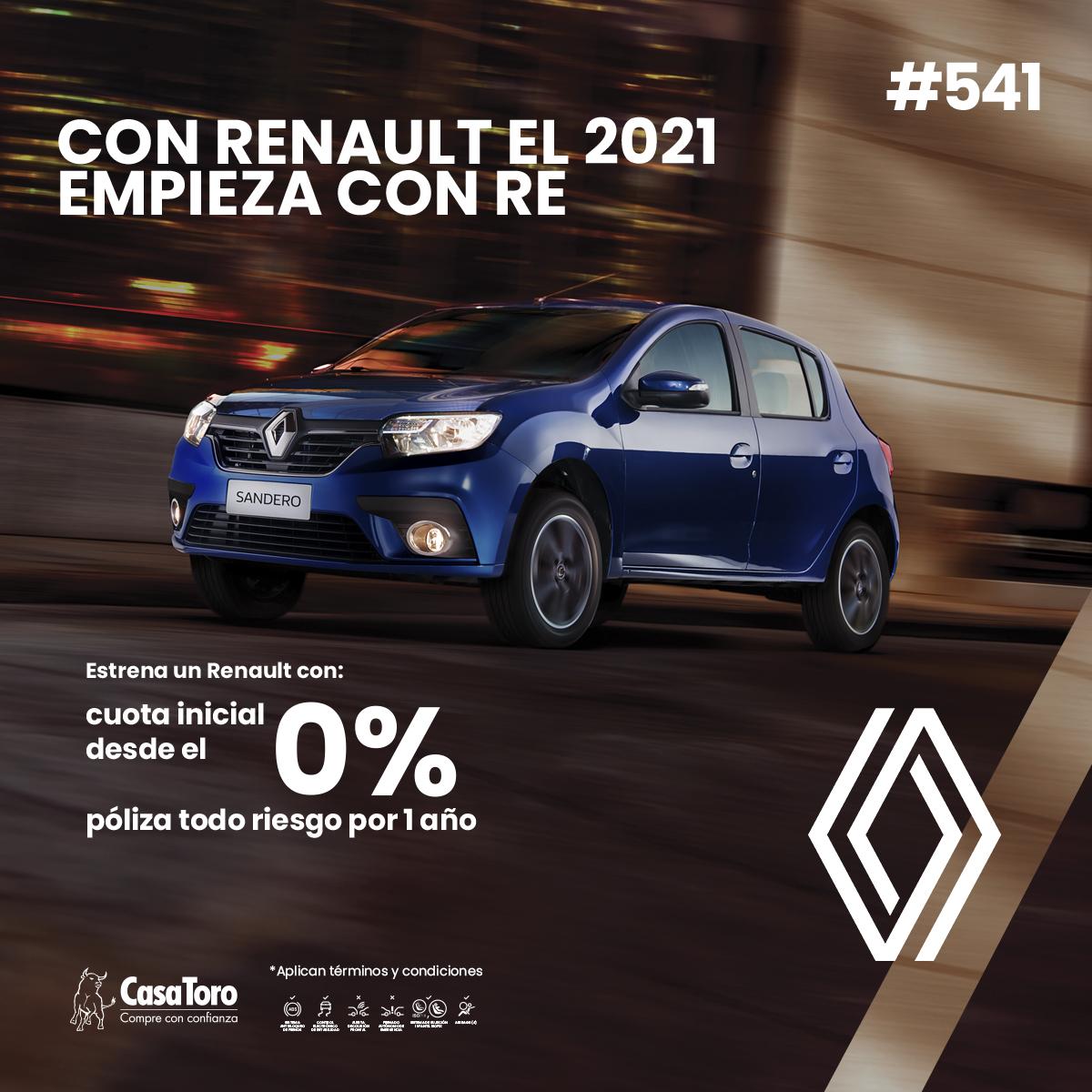 Estrena tu nuevo Renault