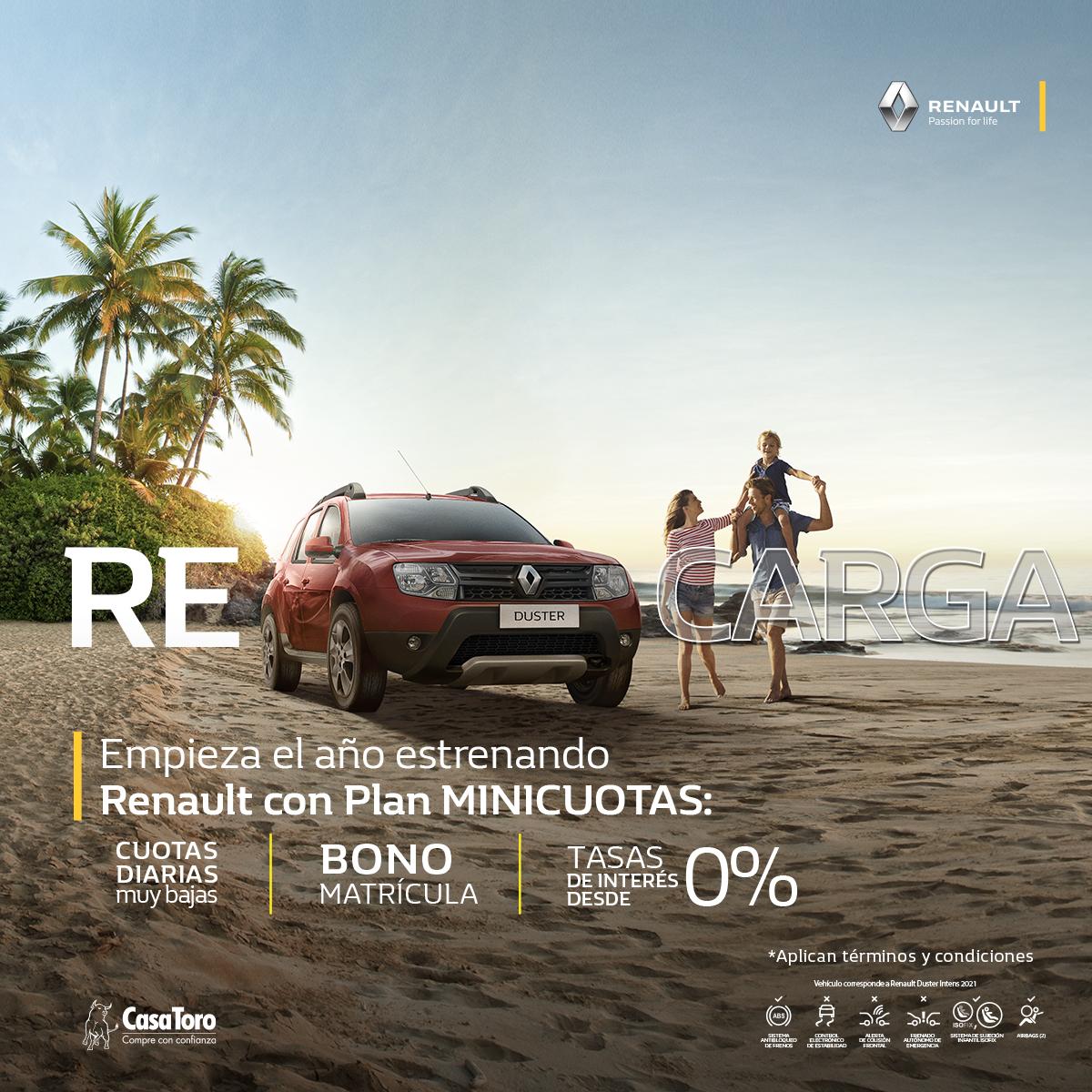 Plan estrena Renault